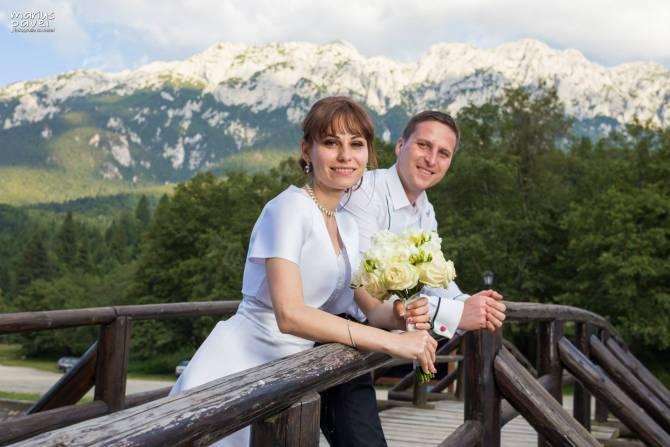 Sedinta foto dupa nunta | Zarnesti, Brasov