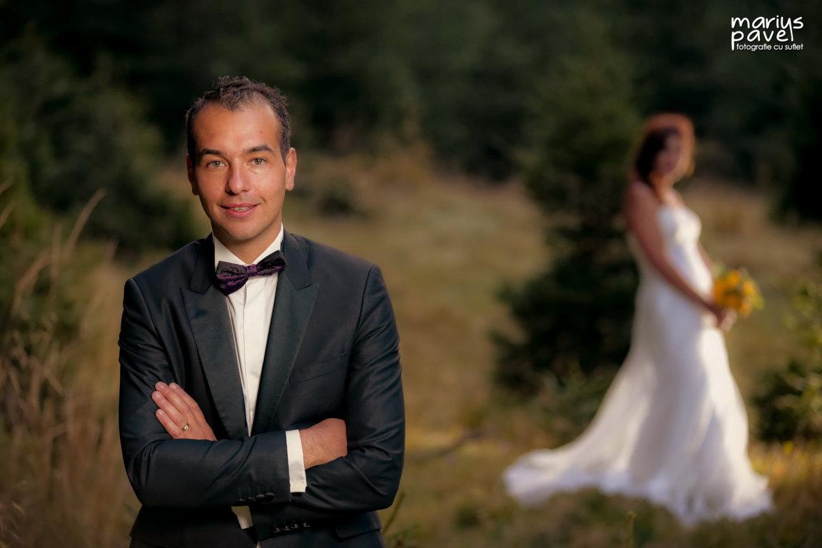 Fotografie de nunta romantica