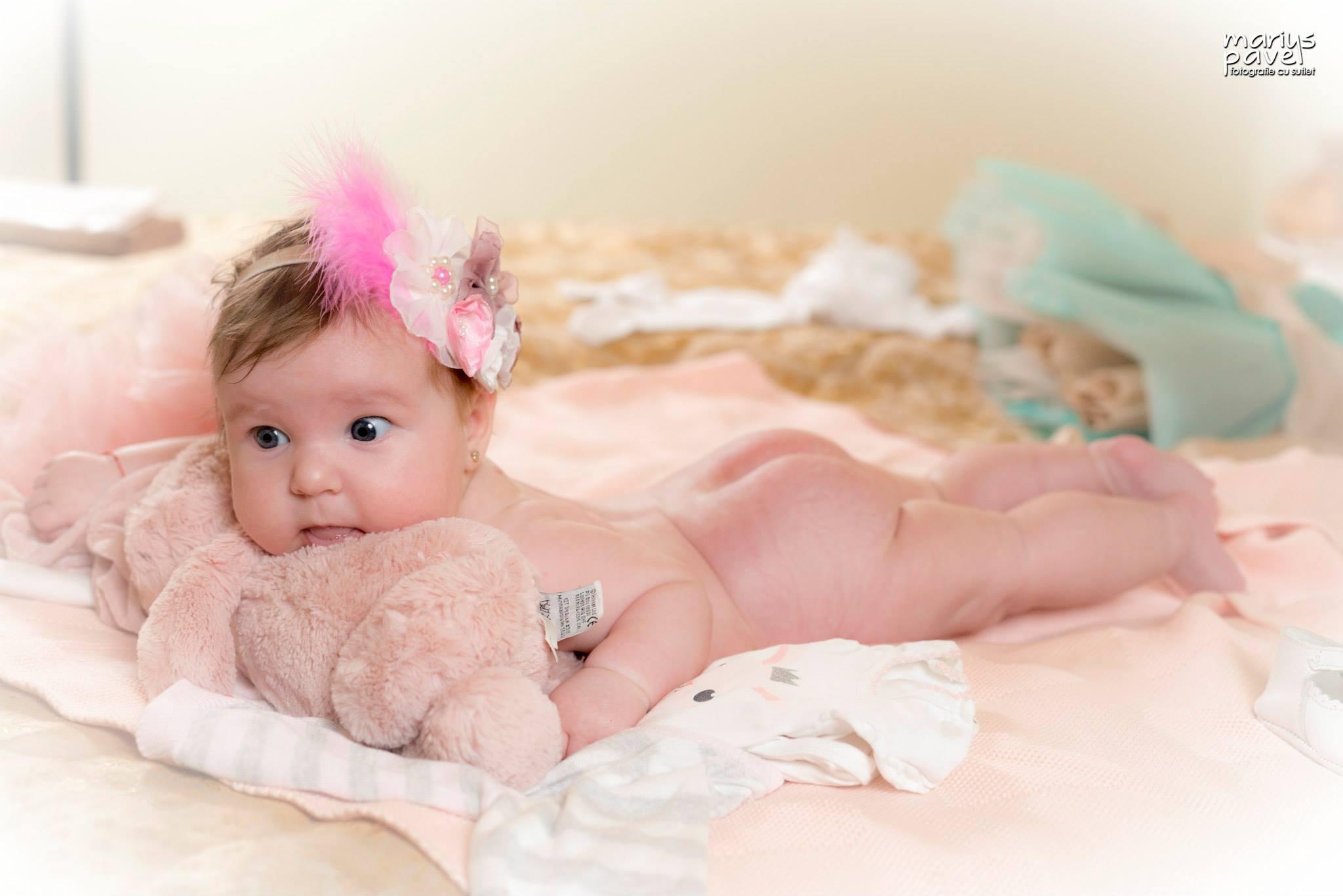 Fotografii inainte de botez Brasov – sedinta foto bebe