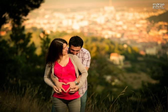 Sedinta foto gravida Brasov