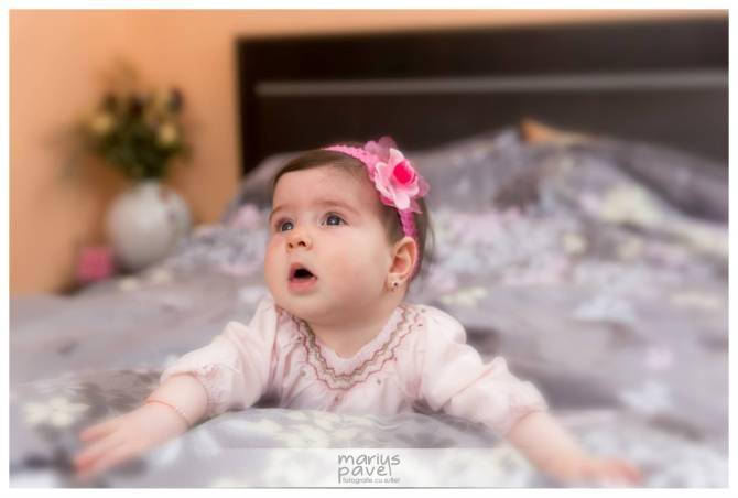 Fotografii copii la 6 luni in Brasov