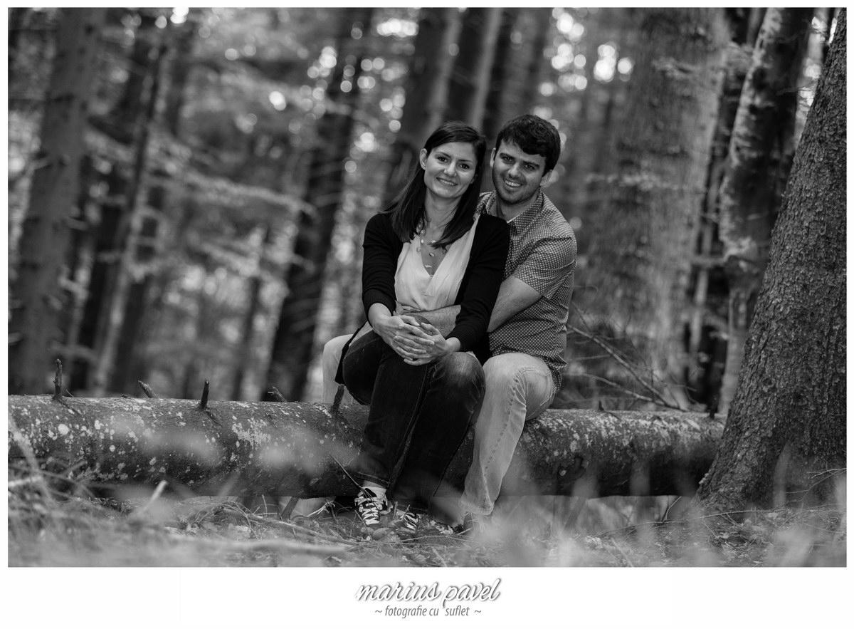 Sedinta de fotografie inainte de nunta la Trei Brazi – Predeal