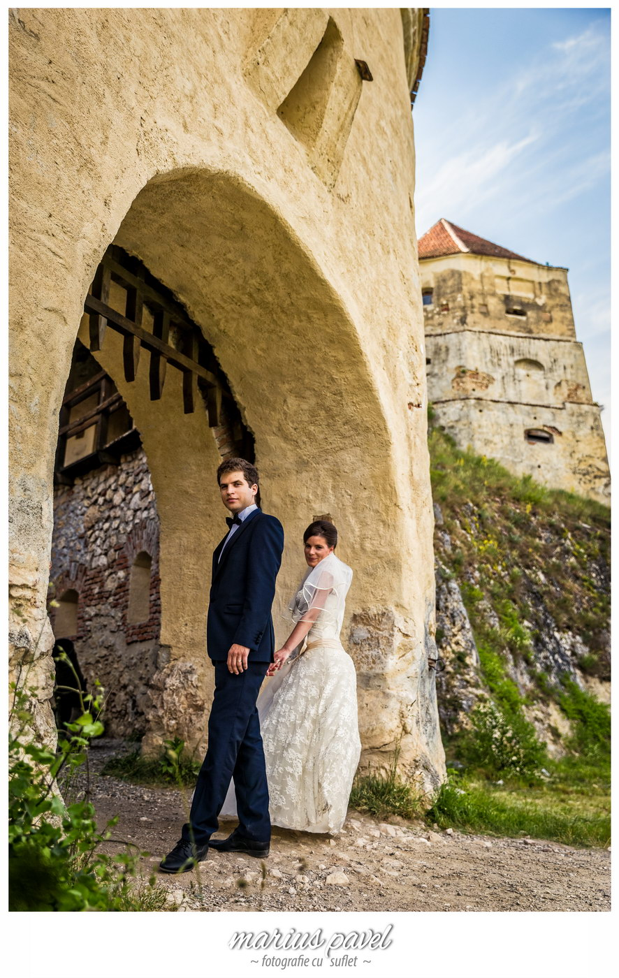 Trash the dress Cetatea Rasnov