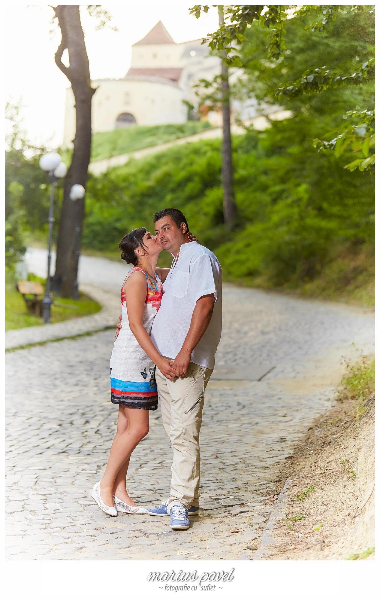 Fotografii logodna la Cetatea Rasnovului