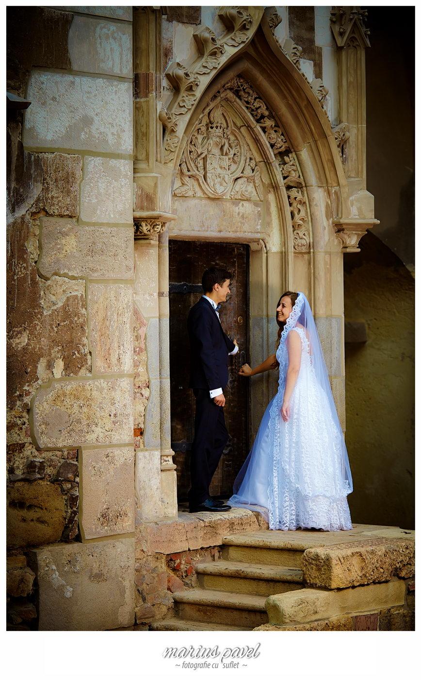 Foto nunta Castelul Corvinestilor din Hunedoara