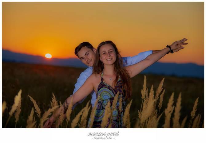Fotografii la apusul soarelui