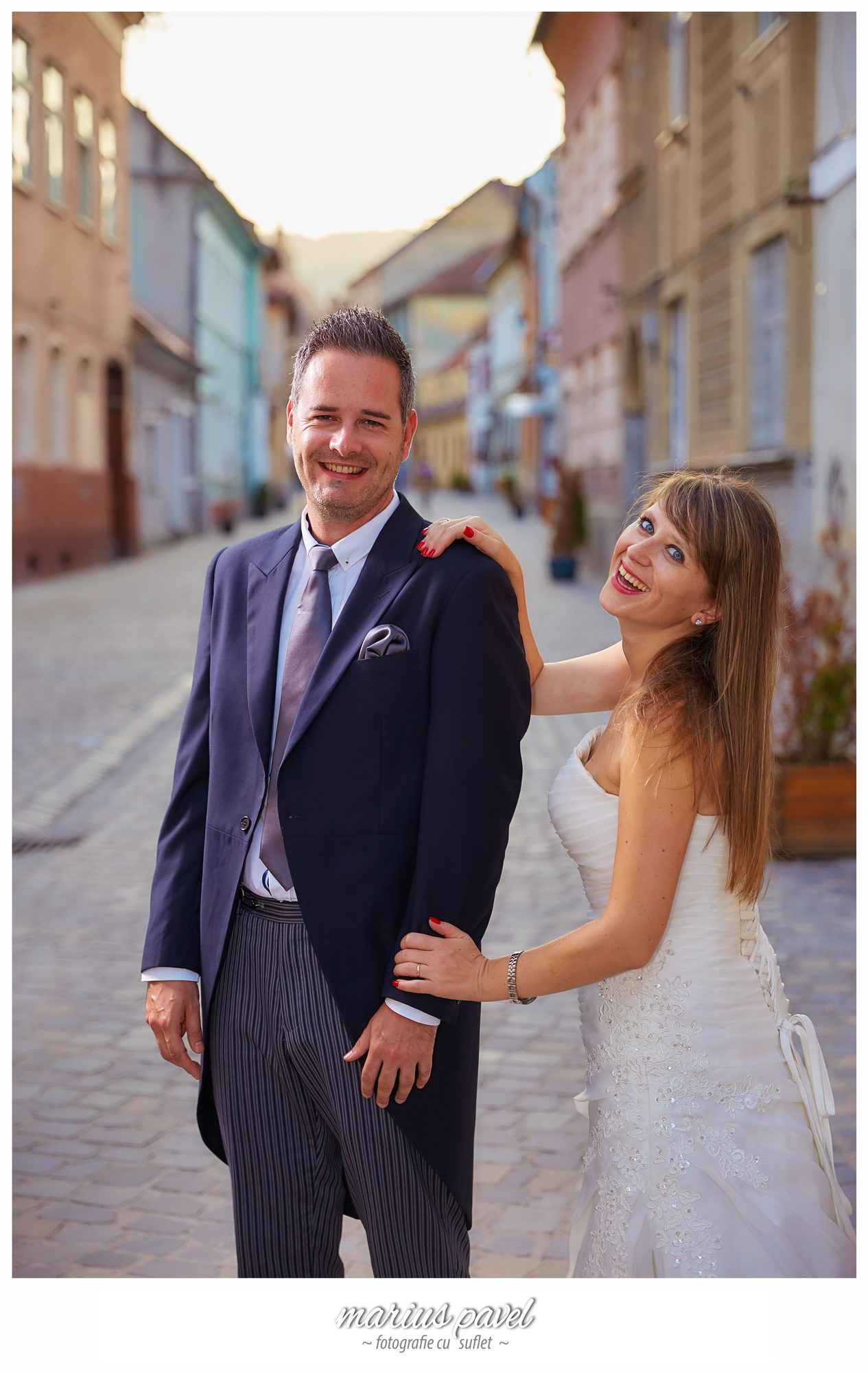Trash the dress – centrul vechi Brasov