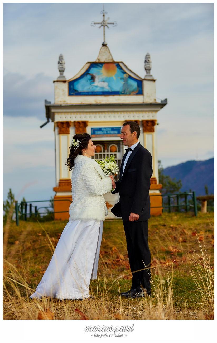 Fotografii dupa nunta in noiembrie
