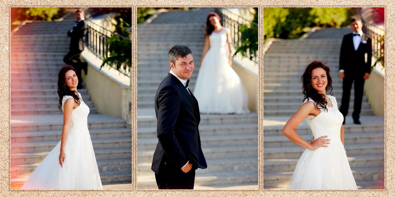 Album de nunta trash the dress la mare