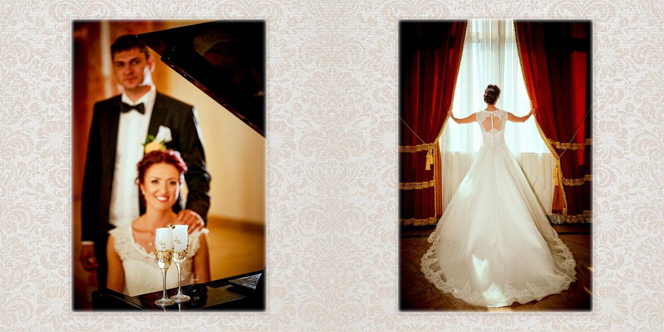 Colajele albumului de nunta de la Casa Armatei