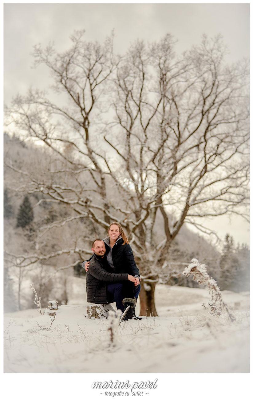 Sedinta Foto Inainte De Nunta Iarna In Poiana Brasov