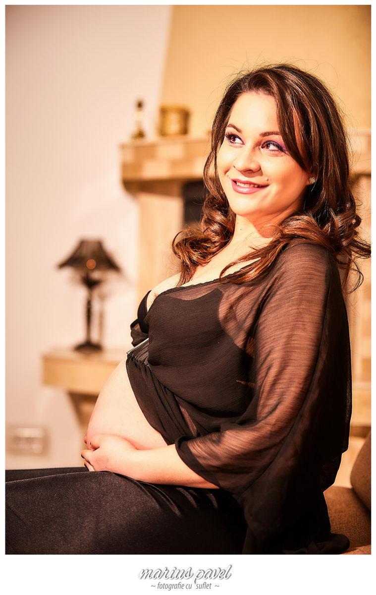Sedinta fotografica gravida Brasov