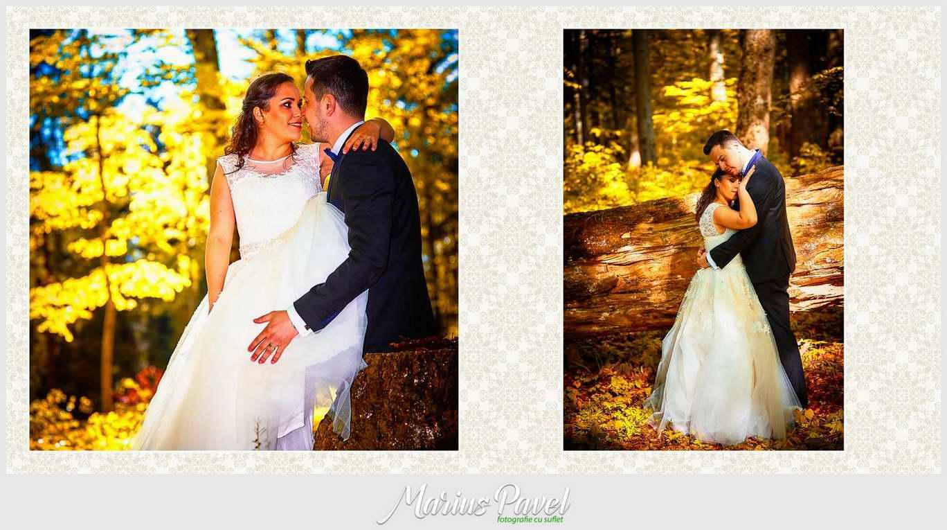 Album de nunta din piele deschisa Brasov