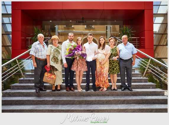 Fotografii de la Primaria Brasov din ziua cununiei civile