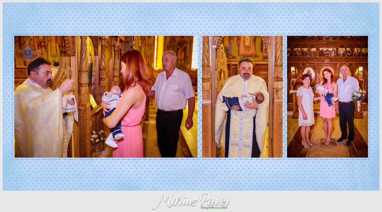 Colaje personalizate album de botez