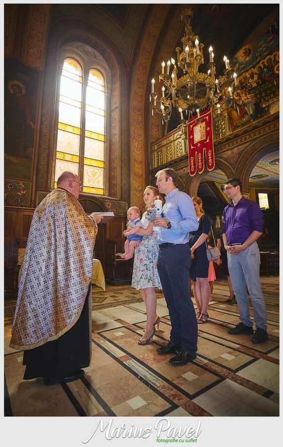 Fotograf botez Catedrala Ortodoxa Piata Sfatului