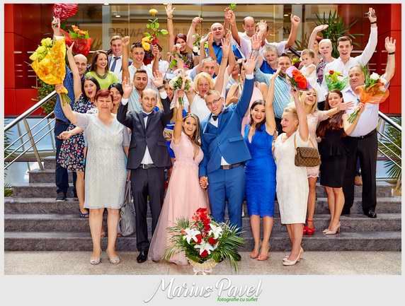 Fotografii din ziua cununiei civile din Brasov